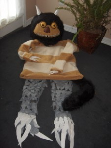 Moishe - Where The Wild Things Are Costume