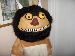 Moishe Costume from Where the WIld Things Are