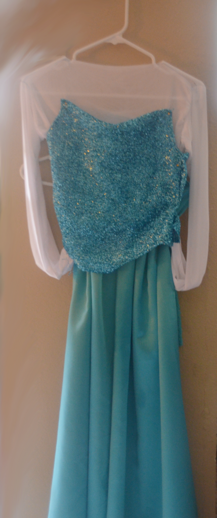 Elsa Princess Dress How To Make It Yourself!