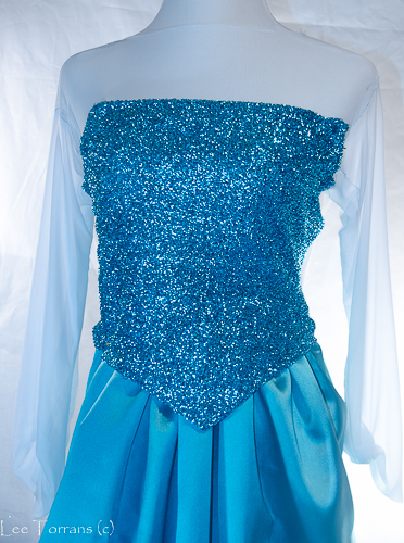 Elsa Costume from Frozen How to Make